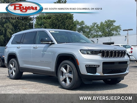 Featured New 2021 Jeep Grand Cherokee L LIMITED 4X4 Sport Utility for sale in Columbus OH