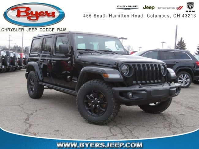 New 2018 Jeep Wrangler UNLIMITED MOAB 4X4 Sport Utility in Columbus