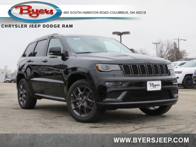 New 2020 Jeep Grand Cherokee LIMITED X 4X4 Sport Utility in Columbus