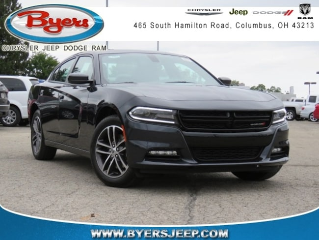 New 2019 Dodge Charger SXT AWD Sedan in Columbus