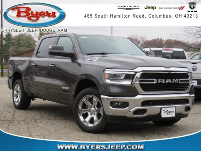 New 2019 Ram 1500 BIG HORN / LONE STAR CREW CAB 4X4 5'7 BOX Crew Cab in Columbus