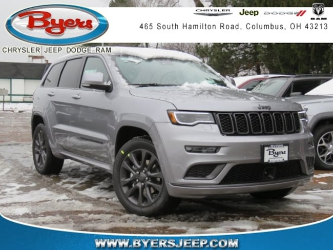 New 2019 Jeep Grand Cherokee HIGH ALTITUDE 4X4 Sport Utility in Columbus