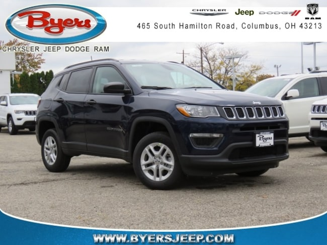 New 2018 Jeep Compass SPORT 4X4 Sport Utility in Columbus