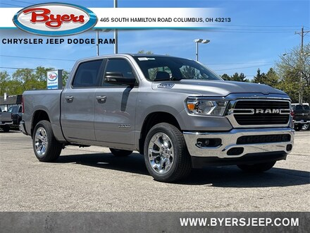 Featured New 2021 Ram 1500 BIG HORN CREW CAB 4X4 5'7 BOX Crew Cab for sale in Columbus OH