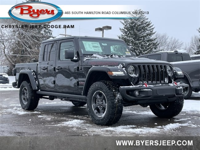 New 2021 Jeep Gladiator RUBICON 4X4 Crew Cab in Columbus