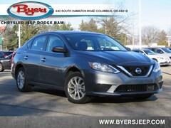 Bargain 2018 Nissan Sentra S Sedan for sale in Columbus OH