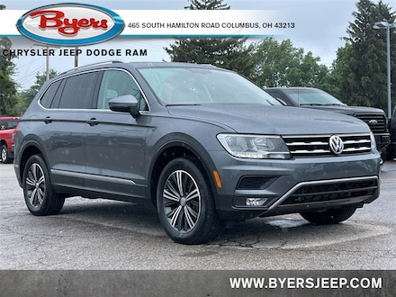 Featured Used 2018 Volkswagen Tiguan 2.0T SEL 4MOTION SUV for sale in Columbus OH