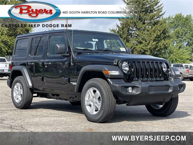 New 2021 Jeep Wrangler UNLIMITED SPORT S 4X4 Sport Utility in Columbus