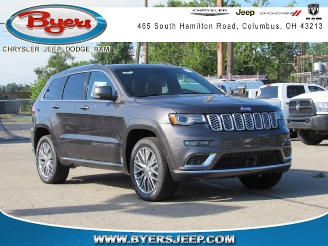 New 2018 Jeep Grand Cherokee SUMMIT 4X4 Sport Utility in Columbus