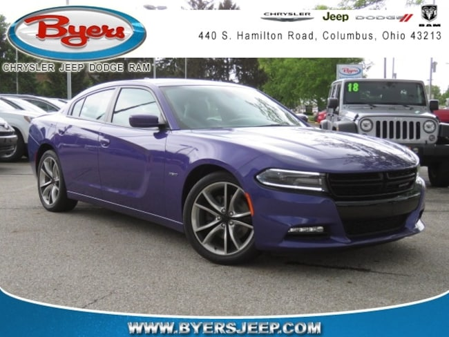 Certified Pre-owned 2016 Dodge Charger R/T Sedan for sale in Columbus, OH