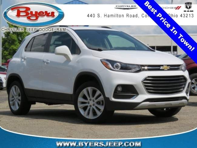 Used 2017 Chevrolet Trax Premier For Sale In Columbus Oh Serving