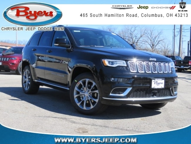 New 2019 Jeep Grand Cherokee SUMMIT 4X4 Sport Utility in Columbus
