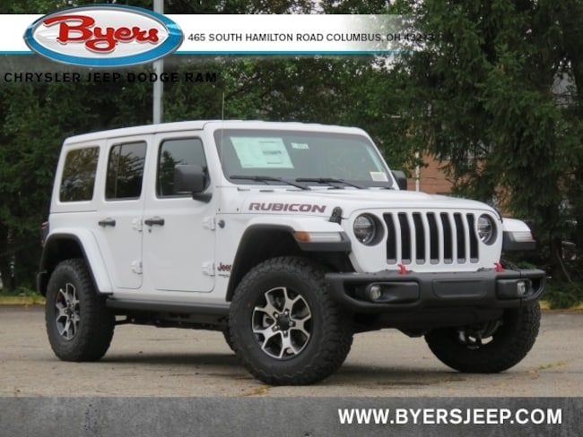 New 2021 Jeep Wrangler UNLIMITED RUBICON 4X4 Sport Utility in Columbus