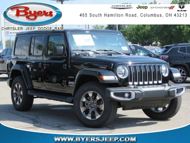 New 2018 Jeep Wrangler UNLIMITED SAHARA 4X4 Sport Utility in Columbus