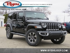 New 2020 Jeep Wrangler UNLIMITED SAHARA 4X4 Sport Utility for sale in Columbus, OH