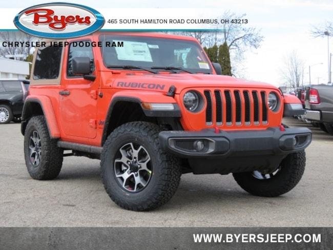 New 2020 Jeep Wrangler RUBICON 4X4 Sport Utility in Columbus