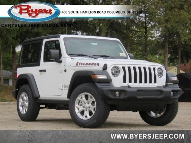 New 2021 Jeep Wrangler ISLANDER 4X4 Sport Utility in Columbus