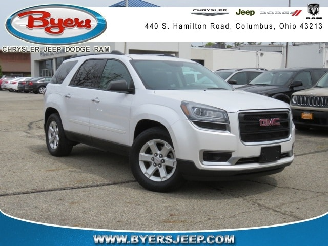 Featured Used 2016 GMC Acadia SLE-2 SUV for sale in Columbus OH