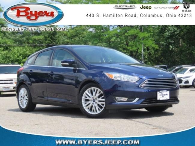 Used 2016 Ford Focus Titanium Hatchback in Columbus