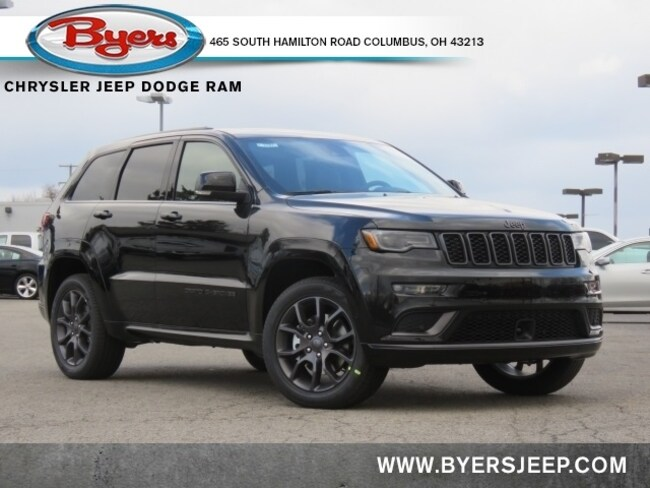 New 2021 Jeep Grand Cherokee HIGH ALTITUDE 4X4 Sport Utility in Columbus