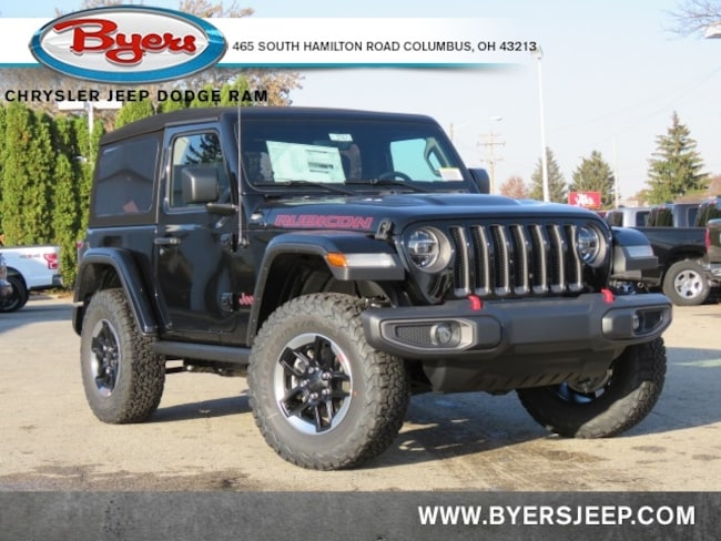 New 2020 Jeep Wrangler RUBICON 4X4 Sport Utility in Columbus