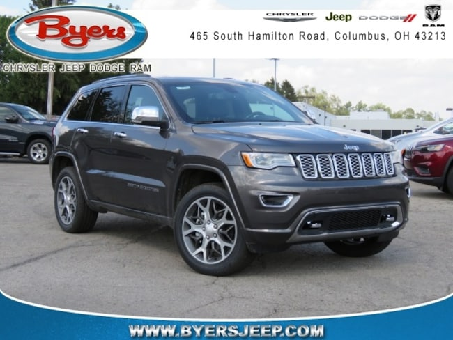 New 2020 Jeep Grand Cherokee OVERLAND 4X4 Sport Utility in Columbus