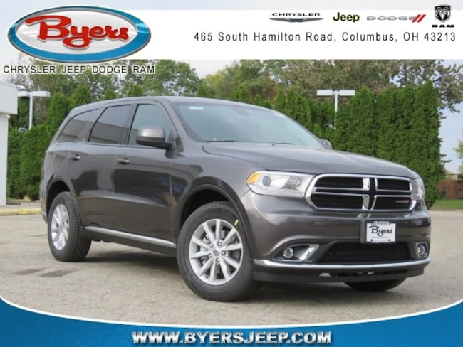 New 2019 Dodge Durango SXT AWD Sport Utility in Columbus