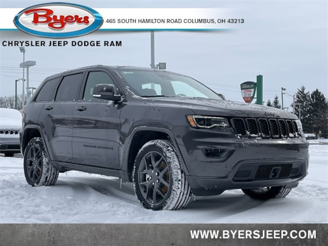 New 2021 Jeep Grand Cherokee 80TH ANNIVERSARY 4X4 Sport Utility in Columbus
