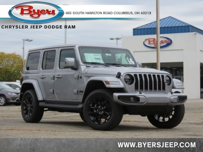 New 2021 Jeep Wrangler UNLIMITED HIGH ALTITUDE 4X4 Sport Utility in Columbus