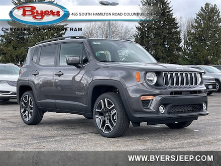 Featured New 2021 Jeep Renegade LATITUDE 4X4 Sport Utility for sale in Columbus OH