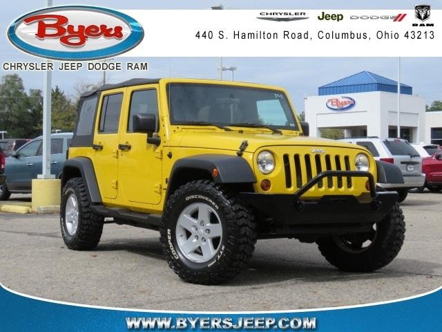 Jeep Dealership Columbus Ohio >> Used 2008 Jeep Wrangler For Sale Columbus Oh