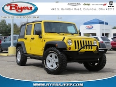 Used Vehicles for sale 2008 Jeep Wrangler Unlimited X SUV in Columbus, OH
