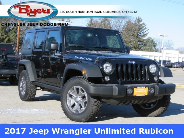 Featured 2017 Jeep Wrangler JK Unlimited Rubicon 4x4 SUV for sale in Columbus OH