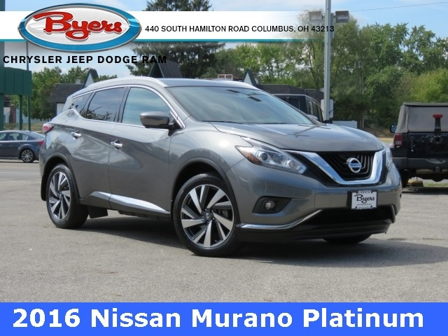 Featured Used 2016 Nissan Murano Platinum SUV for sale in Columbus OH