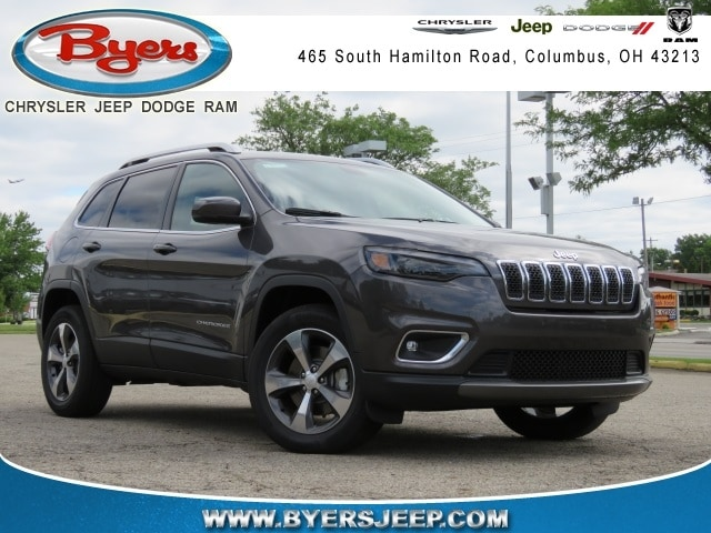 Featured New 2019 Jeep Cherokee LIMITED 4X4 Sport Utility for sale in Columbus OH
