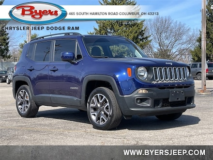 Featured Used 2018 Jeep Renegade Latitude 4x4 SUV for sale in Columbus OH