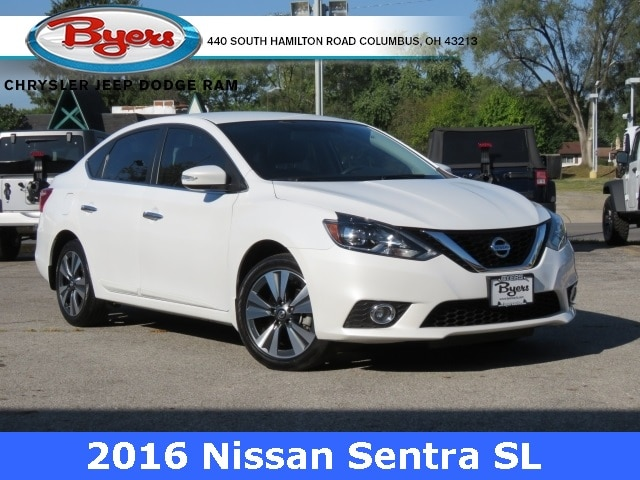 Featured Used 2016 Nissan Sentra SL Sedan for sale in Columbus OH