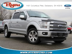 2017 Ford F-150 Platinum Truck SuperCrew Cab 1FTEW1EF0HFB64090 near Columbus, OH