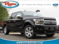 New 2018 Ford F-150 Platinum Truck SuperCrew Cab near Columbus OH