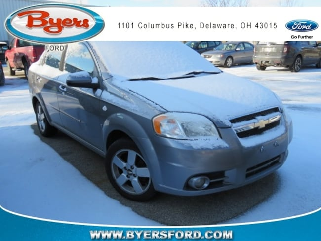 Used 2008 Chevrolet Aveo For Sale Delaware Oh Stock 94361a