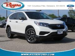 2016 Honda CR-V SE FWD SUV 5J6RM3H42GL031998 near Columbus, OH