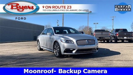 Used 2017 Lincoln Continental Select Sedan for Sale in Deleware, OH