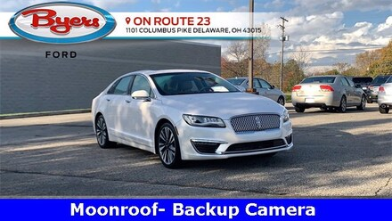 Used 2017 Lincoln MKZ Select Sedan for Sale in Deleware, OH