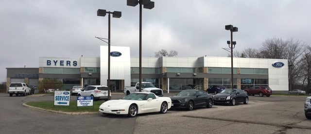 About Byers Ford In Delaware Ohio Ford Dealer Information