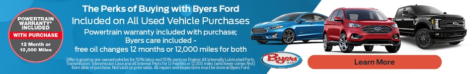 The Perks of Buying with Byers Ford