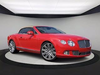2014 Bentley Continental GT Speed Speed Convertible