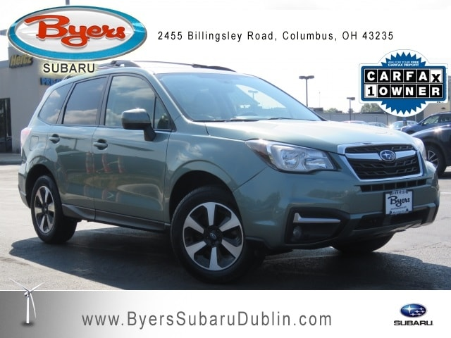 Byers Used Cars >> Used 2018 Subaru Forester 2 5i Premium For Sale In Columbus Oh Stock M64404