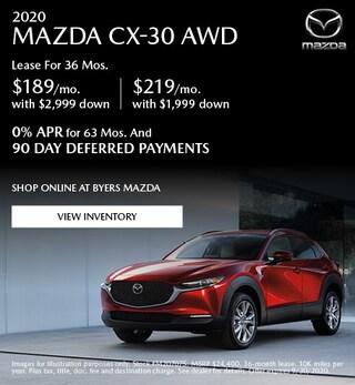 2020 MAZDA CX-30 AWD