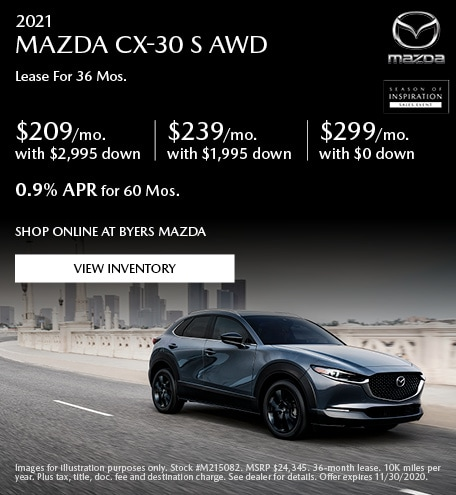 2021 MAZDA CX-30 S AWD