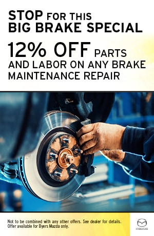 Stop for this Big Brake Specials